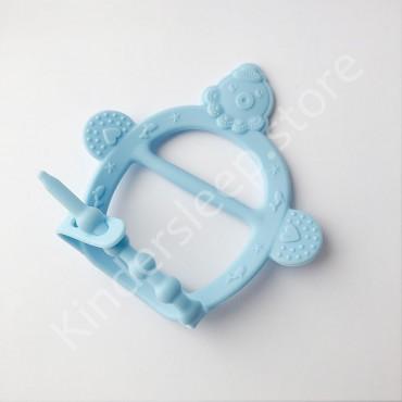 Грызунок игрушка на руку, Голубой