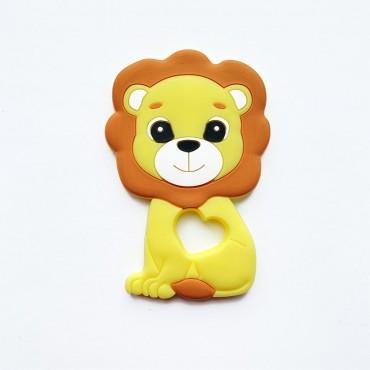 Грызунок игрушка Лев Жёлтый