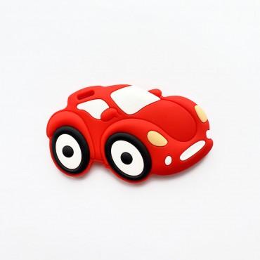 Грызунок игрушка Машинка Красная
