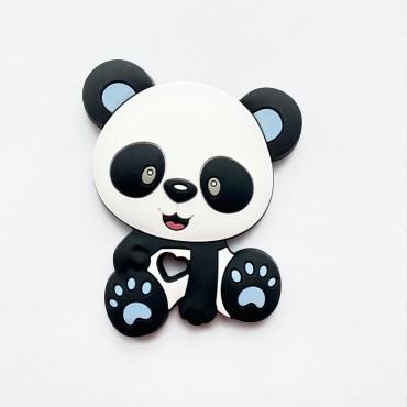 Грызунок игрушка Панда Голубая