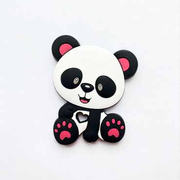 Грызунок игрушка Панда Розовая
