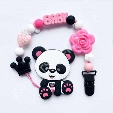 Грызунок Панда Розовая